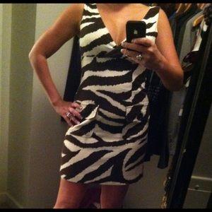 Michael Kors zebra dress